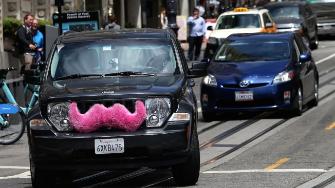 No More Pink Mustaches: Lyft to Abandon Furry-Faced Cars