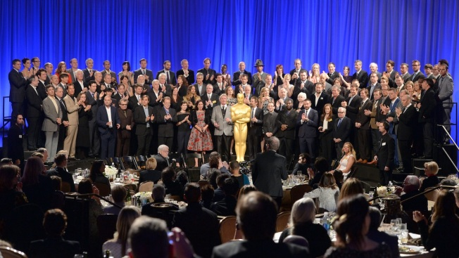 DiCaprio to Streep: Oscar Nominees Attend Annual Luncheon