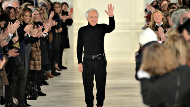 Smithsonian Honors Ralph Lauren for Fashion, Flag