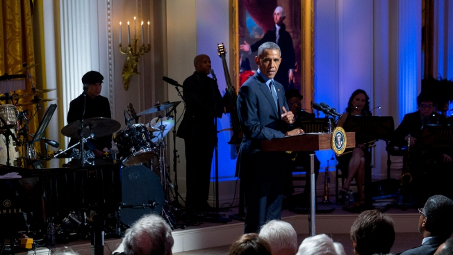 Obama Celebrates American Music With 'Eclectic Bunch'