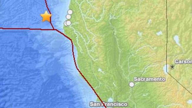 Magnitude-6.8 Quake Strikes Off Northern California