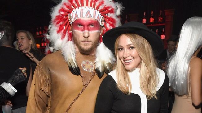 Hilary Duff 'So Sorry' for Pilgrim, Native American Halloween Costumes