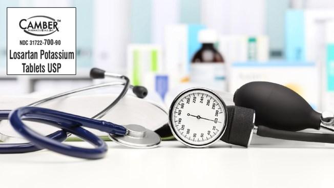 New Recall for Losartan Blood Pressure, Heart Disease Medication