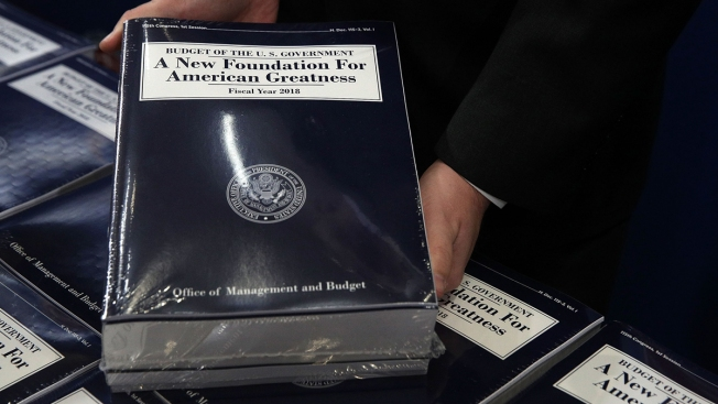 Trump sends Congress $4.1T spending plan