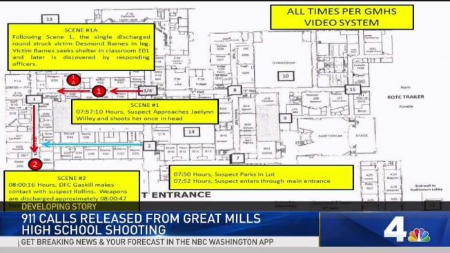 911 Calls Released From Great Mills High School Shooting