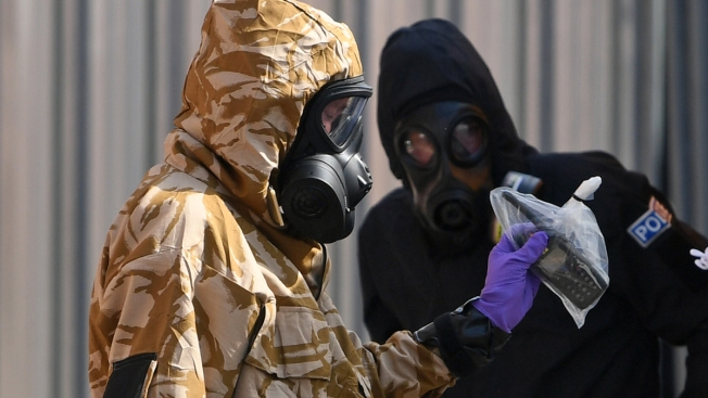 New UK Nerve Agent Victims Likely Handled Container: Police