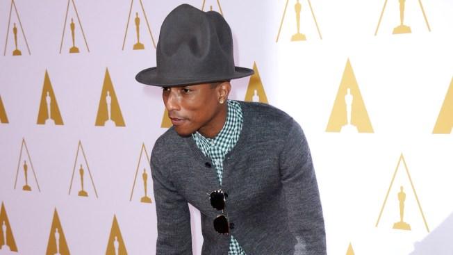 Pharrell, U2, Idina Menzel Rock Oscar Rehearsals