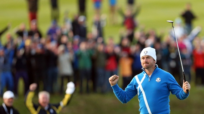 Europe Leads U.S. 5-3 After Day 1 of Ryder Cup