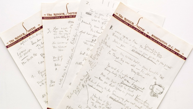 """Bob Dylan's """"Like a Rolling Stone"""" Manuscript Heads to Auction"""