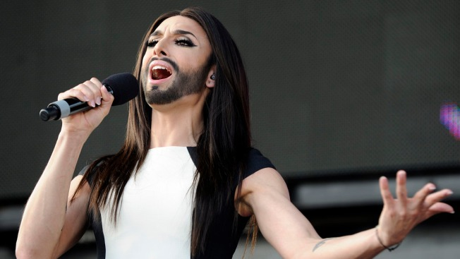 Austrian Drag Queen Conchita Wurst Wows 10,000 Fans After Win