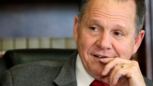 Alabama Senate Candidate Roy Moore Uses Racist Terms In Campaign Speech