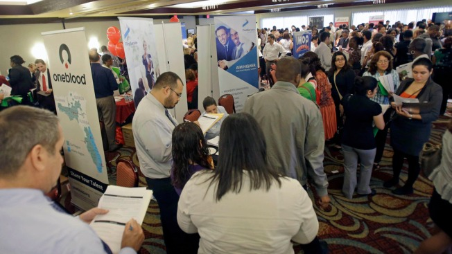 Md., Va., D.C. See Drops in Unemployment in Dec.