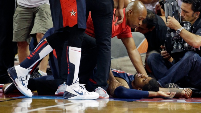 Indiana Pacers' Paul George Suffers Gruesome Leg Injury in Scrimmage