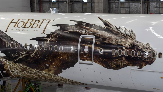 New Zealand Airline Reveals Image of Hobbit Dragon