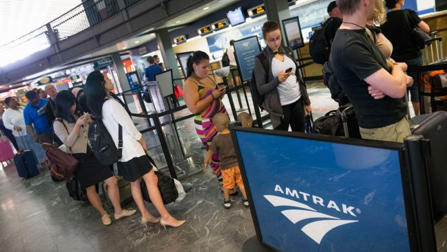 Weather Causes Delays on Amtrak's Northeast Corridor