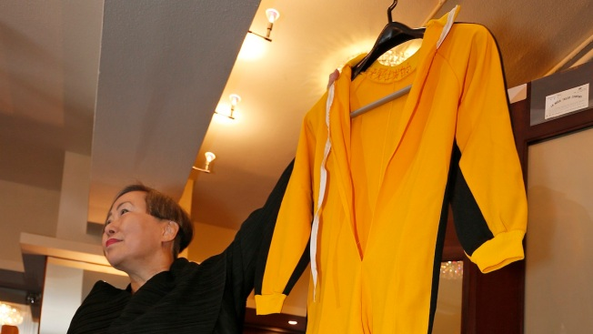 Bruce Lee's Famous Yellow Jumpsuit Up for Auction