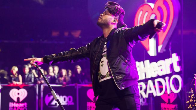 The Weeknd, Nick Jonas, Lovato Shine at Jingle Ball Concert