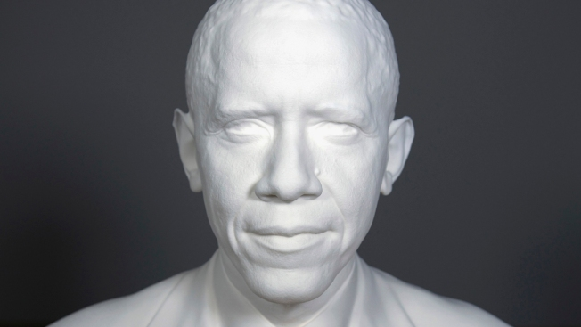 3D Portraits of Obama Go on Display at Smithsonian