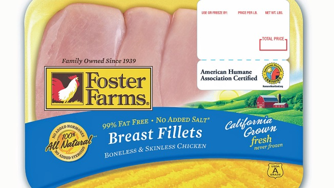 USDA Issues Health Alert for Foster Farms Chicken