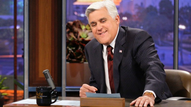 Jay Leno to Win Nation's Top Humor Prize in D.C.