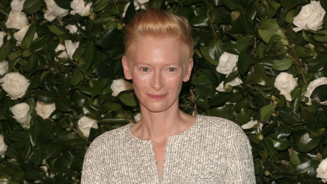 Tilda Swinton Honored at MoMA on 53rd Birthday