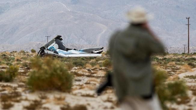 2 Pilots in SpaceShipTwo Crash Identified