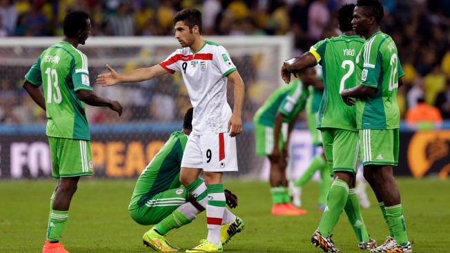 Nigeria Held 0-0 by Iran in World Cup's First Draw