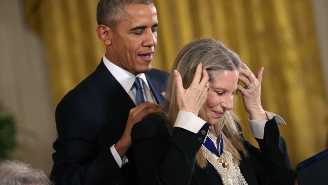 Obama Honors Streisand, Spielberg, and More With Medal of Freedom