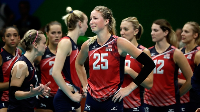 Serbia Beats Top-Ranked US in Women's Volleyball