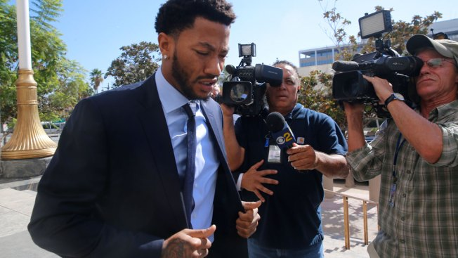 NBA Star Derrick Rose Takes Stand in Lawsuit, Denies Rape