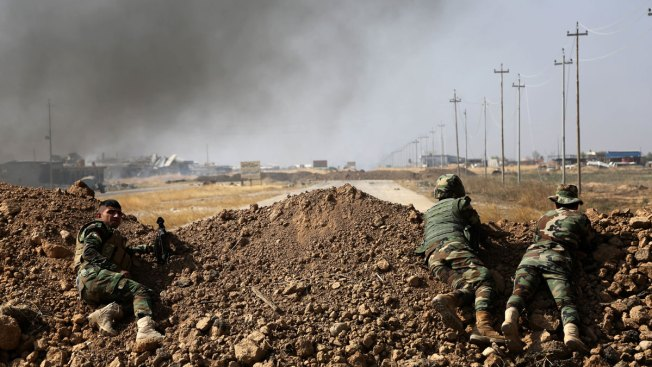 Iraqi Forces Pause Mosul Advance After Day of Fighting