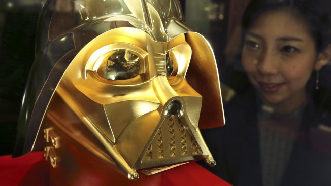 This Gold Darth Vader Mask Can Be With You — for $1.4M