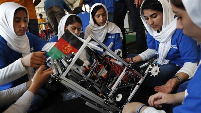 Afghan Girls Robotics Team Competes After Visa Obstacles