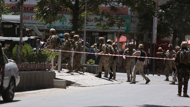 Militants Attack Iraqi Embassy In Kabul