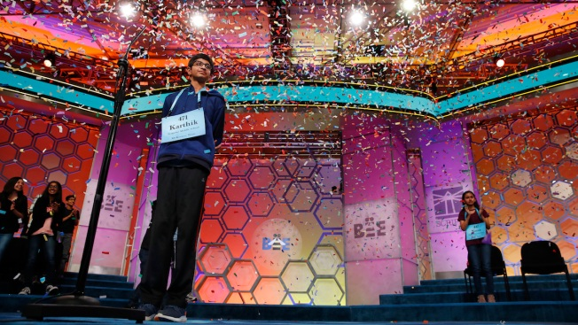 Texas Teen Wins 2018 Scripps National Spelling Bee With 'Koinonia'