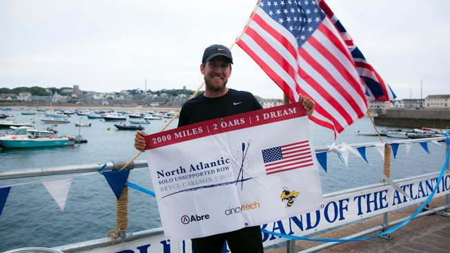 US High School Teacher Rows Solo Across Atlantic in Record Time