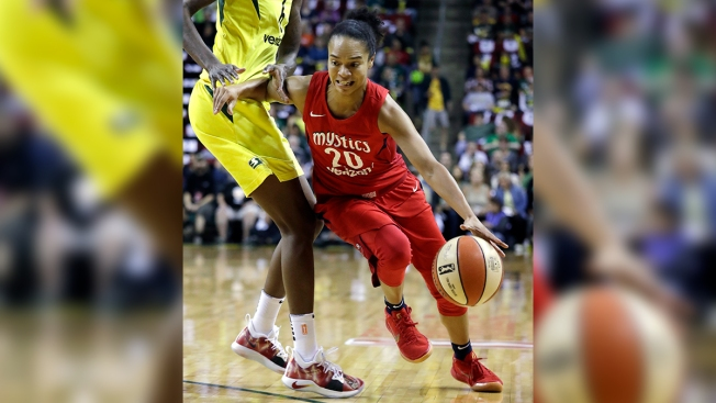 Mystics Star Kristi Toliver Becomes Third Woman Ever Hired as NBA Assistant Coach