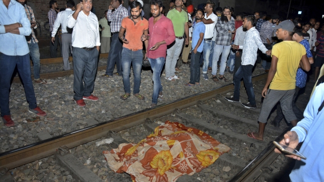 Dozens Dead When Train Mows Down Crowd at Festival in India