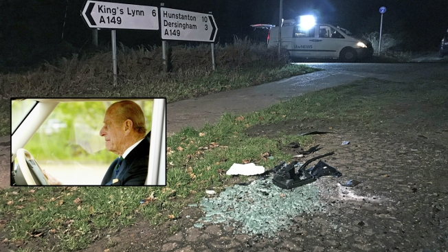 Prince Philip Won't Be Charged in Car Crash Near Royal Estate