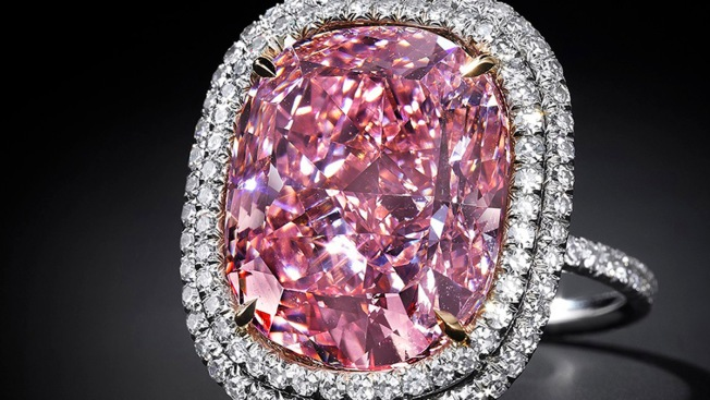 Pink Diamond Sells for More Than $50M, Setting World Record