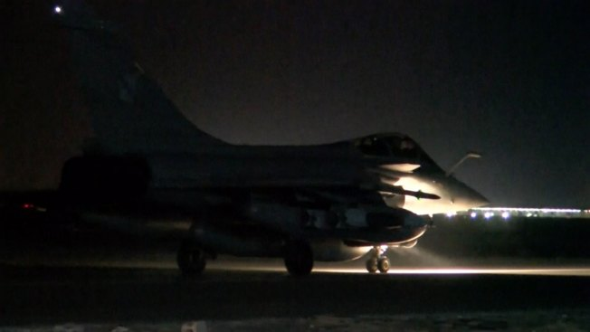 France Launches New Airstrikes Against ISIS Capital