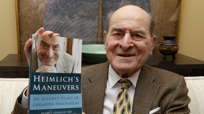 Dr. Heimlich, Now 96, Uses His Maneuver for the First Time
