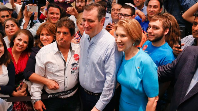 'Fearless' Conservative: Fiorina Endorses Cruz