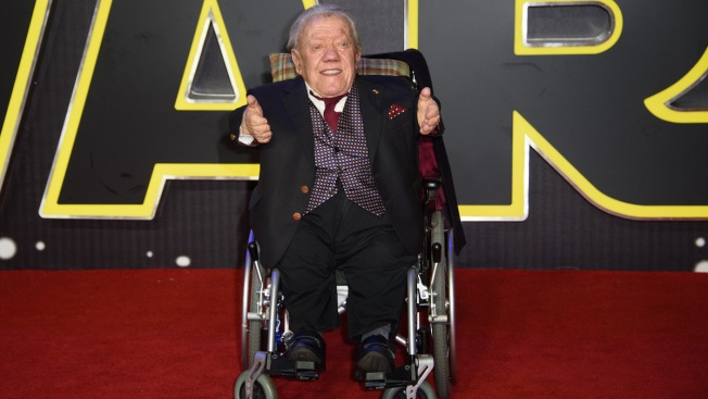 'Star Wars' R2-D2 Actor Kenny Baker Dies at 81