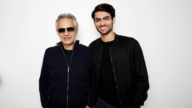 Andrea Bocelli Teams Up With His Son for New Duet