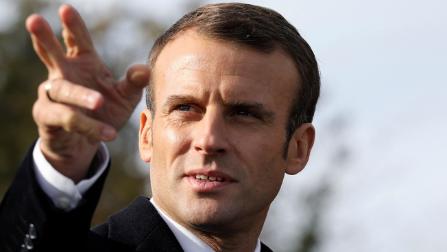 6 Arrested in Suspected Plot to Attack French Leader Macron