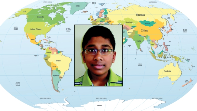 Virginia 8th-Grader Wins National Geographic Bee