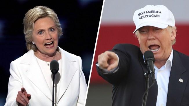 Final NBC/WSJ Poll: Clinton Holds a Four-Point National Lead Over Trump