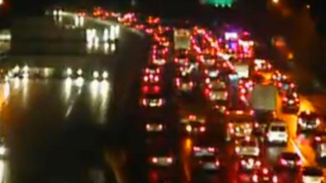 Rain Causes Four Crashes on the Capital Beltway