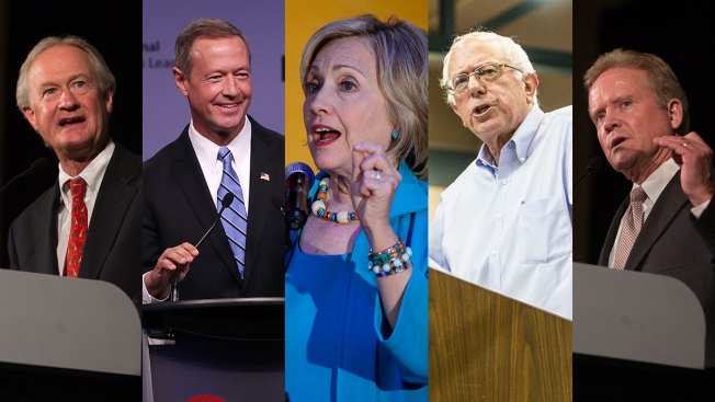 dates set for six democratic presidential debates nbc4 washington